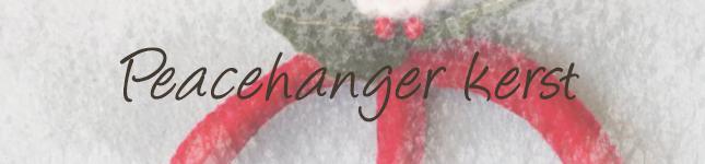 Peacehanger kerst