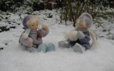 Lentekleuren in de winter
