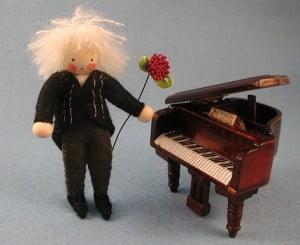 Pianist met Piano