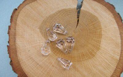 Kristal druppel 18 mm