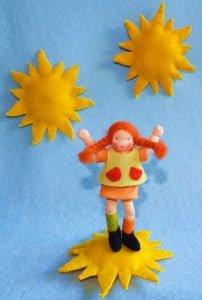 zonnig