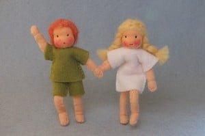 Broertje en zusje