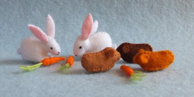 konijnen en cavia's