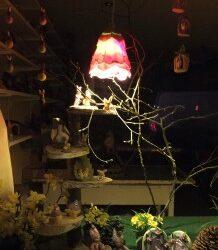 Paas-etalage by night
