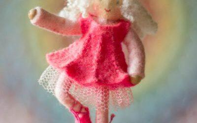 Roze ballerina