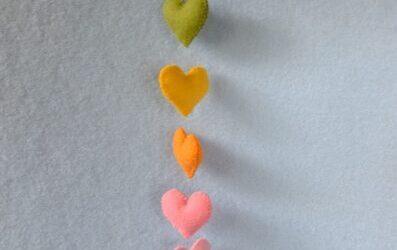 Hartenhanger en een knuffel uit liefde