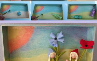 Workshop houten doosje beschilderen