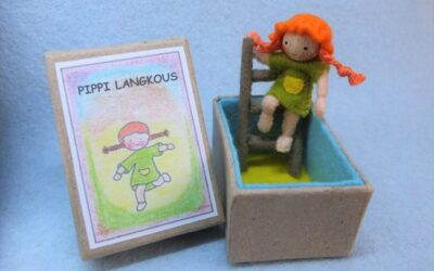 Pippi Langkous in een doosje