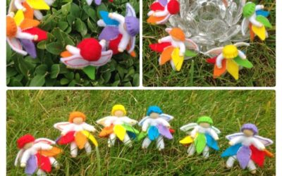 Regenboogvriendjes en snoepende slakjes