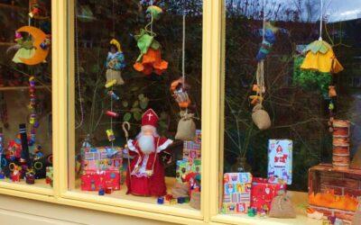 Sinterklaas en zijn pieten