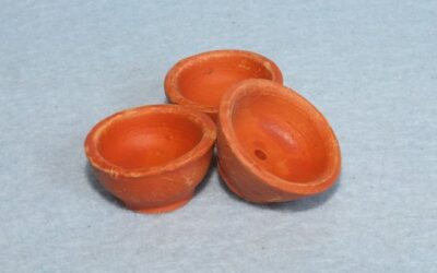 Terracotta potje